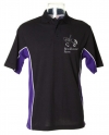 Gamegear Polo - Black and Purple