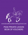 Peak Private Lesson Book of Vouchers