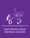 Peak Private Lesson Individual Voucher